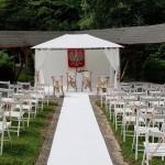 wypożycz krzesła białe składane