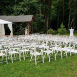 wypożyczalnia krzeseł białych składanych